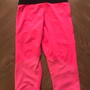Nike Pro Capris little girls sz XS pink